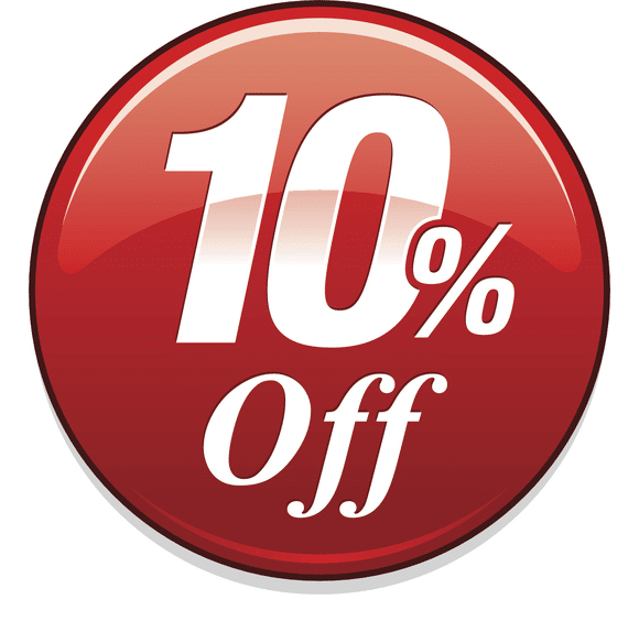 Get 10% off today!