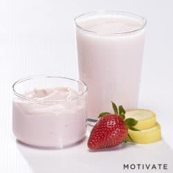 Healthy smoothies – Strawberry and banana (7/box)